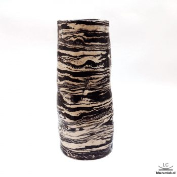 steengoed Vaas Zwart Wit
