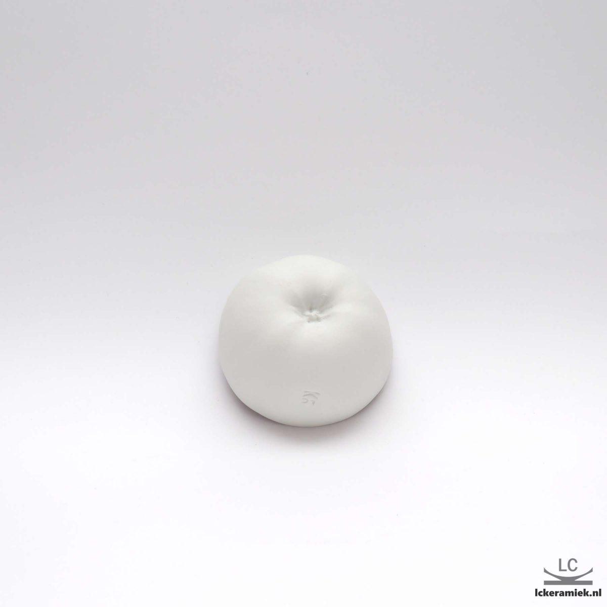 porseleinen schaaltje appel