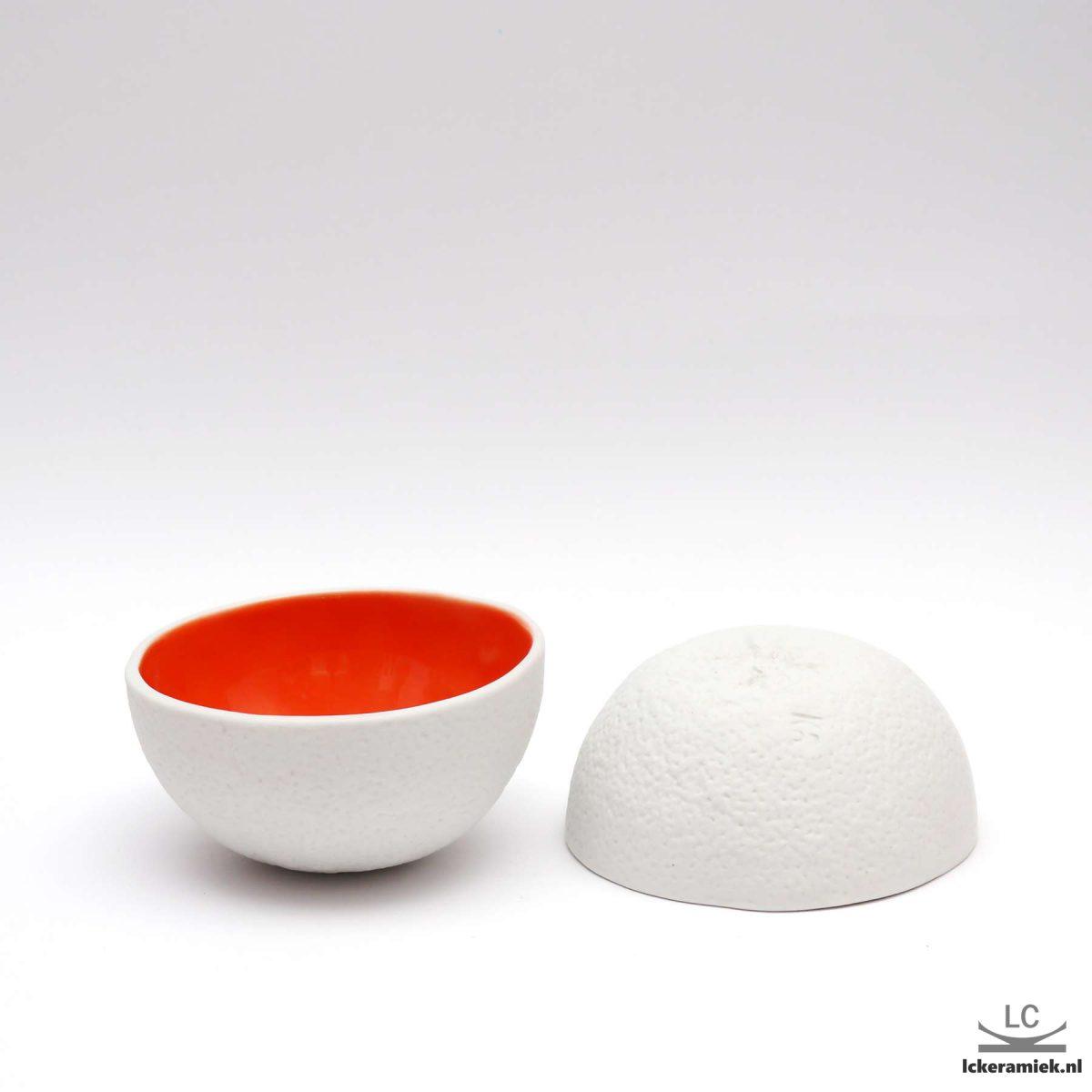 porseleinen schaaltje sinaasappel