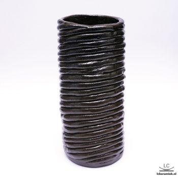 steengoed vaas spiraal