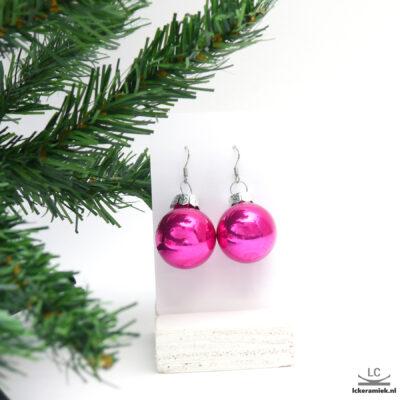 Kerst oorbellen met oorhaken