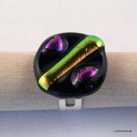 Handgemaakte glazen ring door LCKeramiek