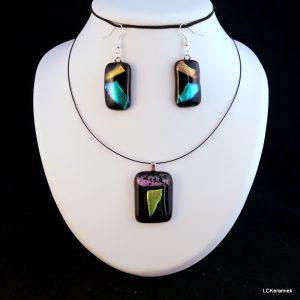 korte workshops, sieraden van gesmolten glas